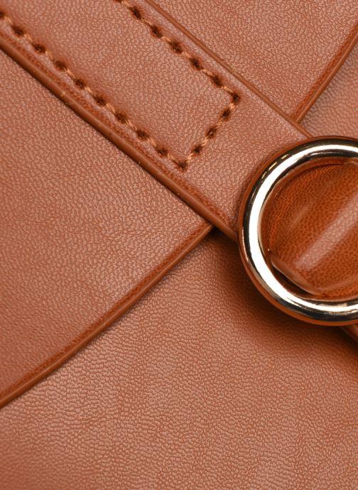 Handtassen I Love Shoes LINEW Bruin links