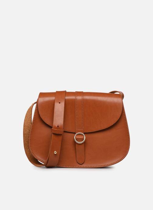Handtassen I Love Shoes LINEW Bruin detail