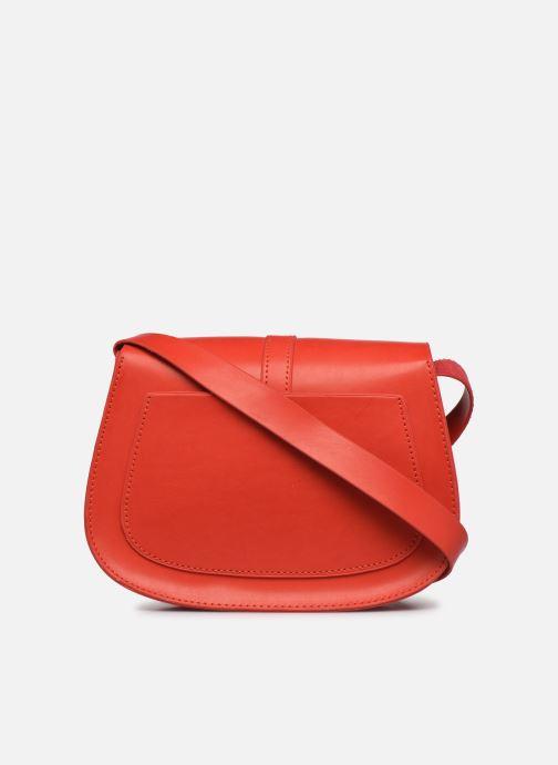Bolsos de mano I Love Shoes LINEW Rojo vista de frente