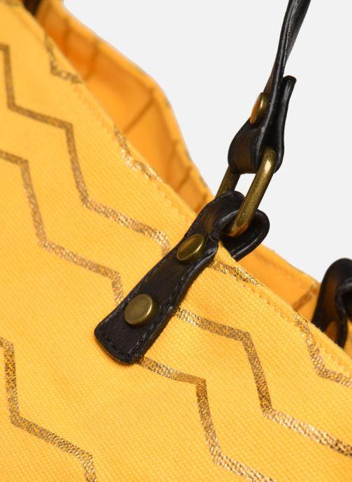 Bolsos de mano I Love Shoes LONELY Amarillo vista lateral izquierda