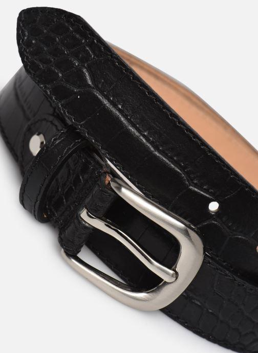 Ceintures I Love Shoes LIBELLY LEATHER Noir vue portées chaussures