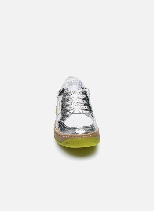 Sneakers Semerdjian Arto Bianco modello indossato