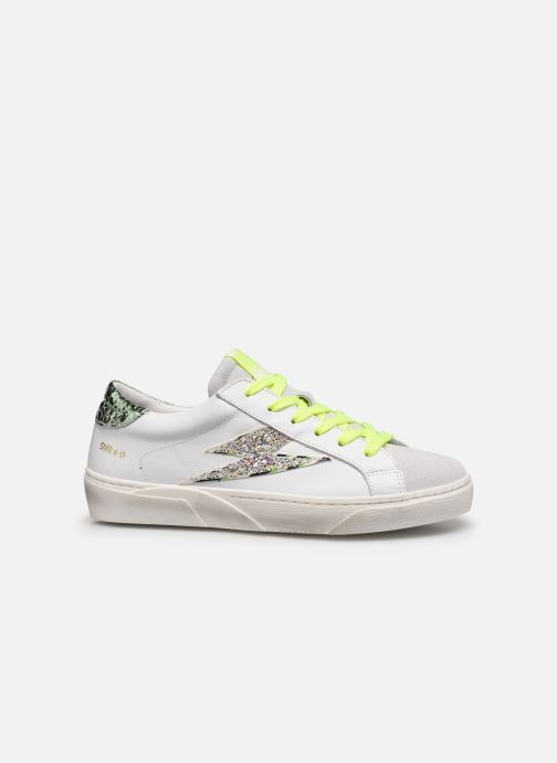 Sneakers Semerdjian Catri Wit achterkant