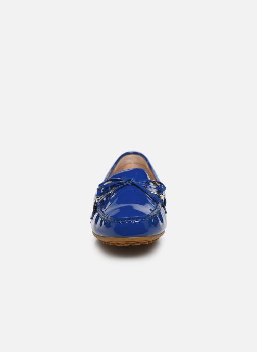 Mocassins Lauren Ralph Lauren BRILEY Bleu vue portées chaussures