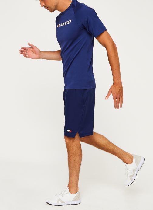 Vêtements Tommy Sport 7'' Woven Short Bleu vue bas / vue portée sac