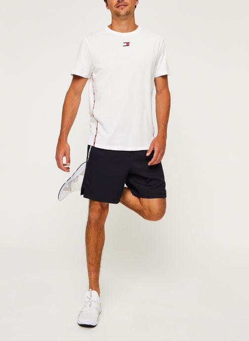 Vêtements Tommy Sport Stretch Woven Piping Short Bleu vue bas / vue portée sac