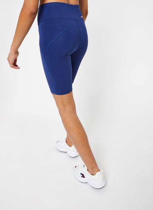 Vêtements Tommy Sport Knit Long Short Lbr Bleu vue portées chaussures