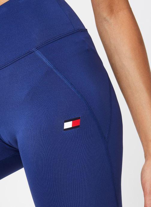 Vêtements Tommy Sport Knit Long Short Lbr Bleu vue face