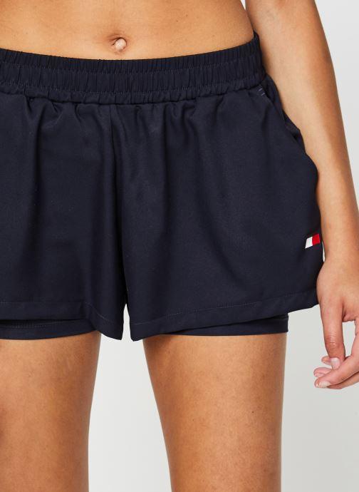 """Vêtements Tommy Sport 3"""" 2-In 1 Woven Short Lbr Bleu vue face"""