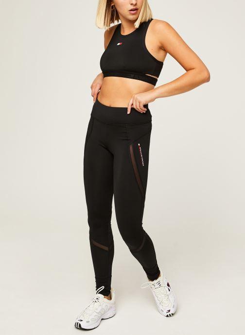 Vêtements Tommy Sport Highwaist Training Legging Noir vue bas / vue portée sac