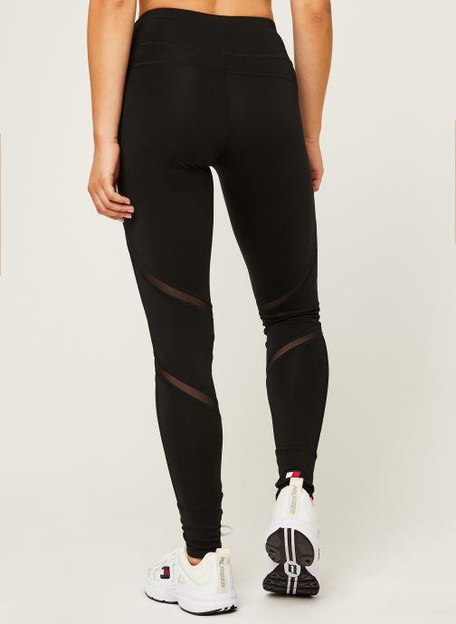 Vêtements Tommy Sport Highwaist Training Legging Noir vue portées chaussures