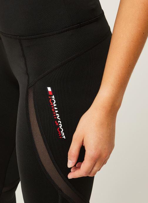 Vêtements Tommy Sport Highwaist Training Legging Noir vue face