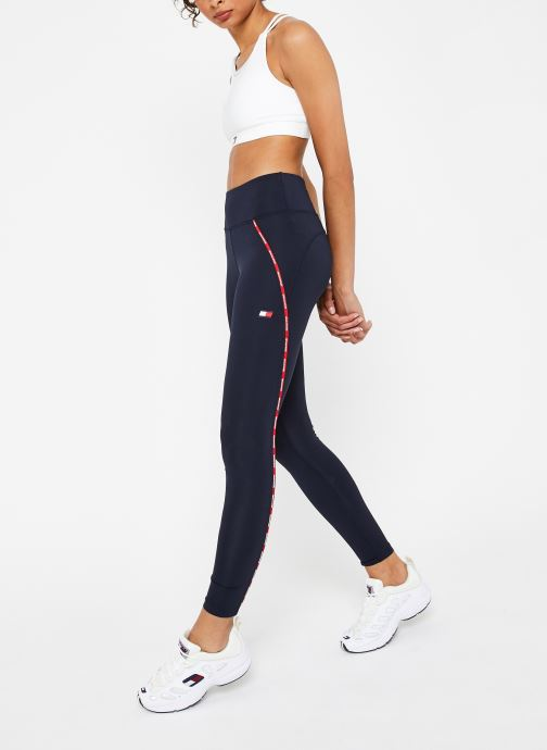 Vêtements Tommy Sport Legging Piping Bleu vue bas / vue portée sac