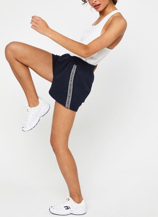 """Vêtements Tommy Sport 3"""" Printed Short Bleu vue bas / vue portée sac"""