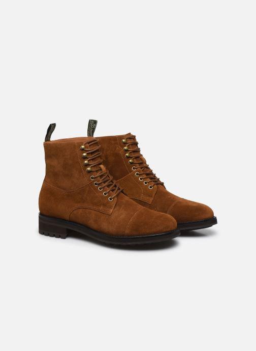 Bottines et boots Polo Ralph Lauren BRYSON Marron vue 3/4