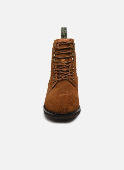 Bottines et boots Polo Ralph Lauren BRYSON Marron vue portées chaussures