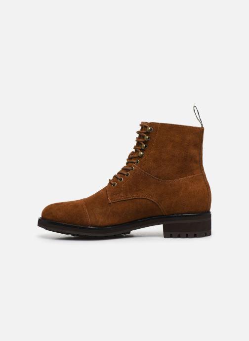 Bottines et boots Polo Ralph Lauren BRYSON Marron vue face
