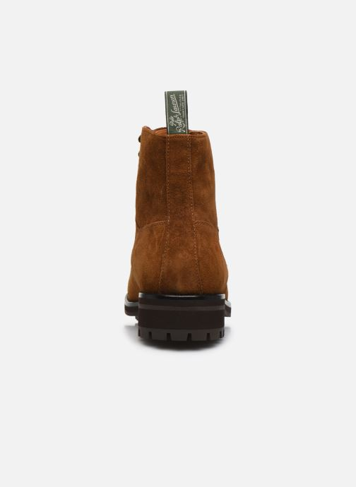 Bottines et boots Polo Ralph Lauren BRYSON Marron vue droite