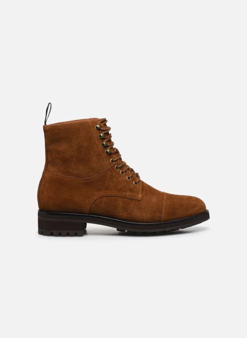 Bottines et boots Polo Ralph Lauren BRYSON Marron vue derrière