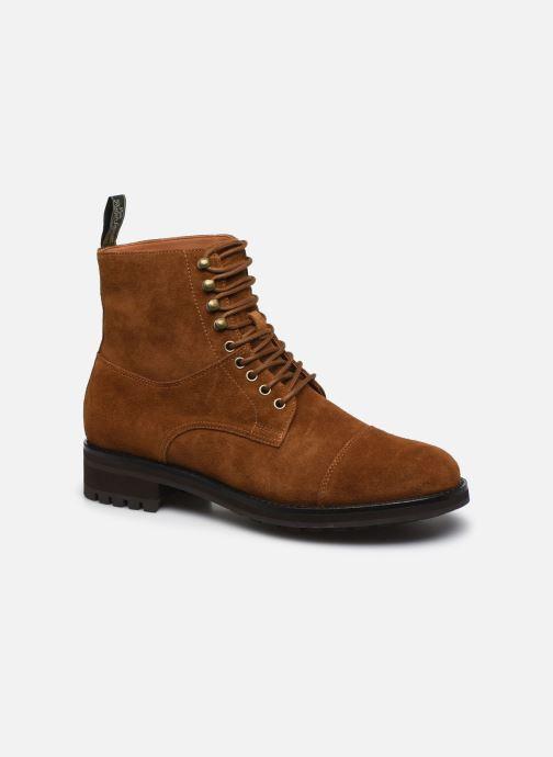 Bottines et boots Polo Ralph Lauren BRYSON Marron vue détail/paire