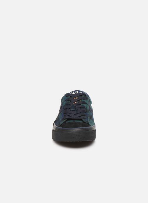 Baskets Polo Ralph Lauren Sayer - Tiger tartan Multicolore vue portées chaussures