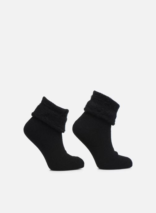 Lot de 2 chaussettes revers femme