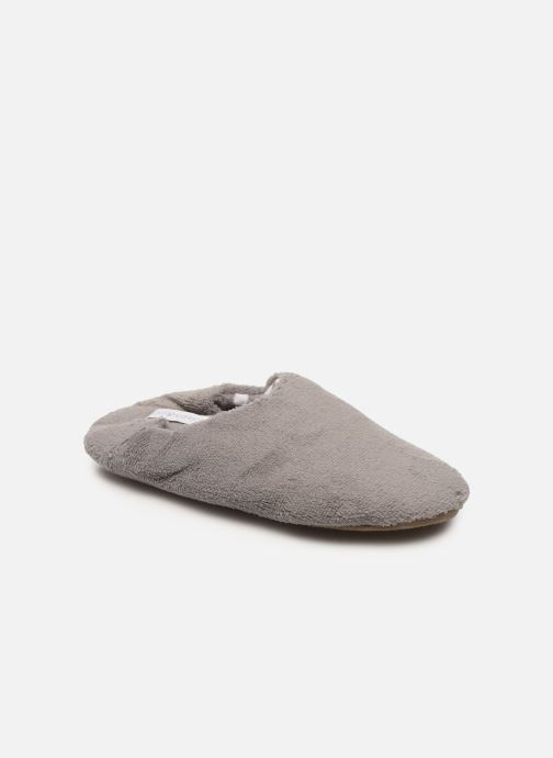 Chaussons gris femme