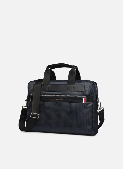 Laptoptaschen Tommy Hilfiger ELEVATED NYLON COMPUTER BAG  5814 blau schuhe getragen