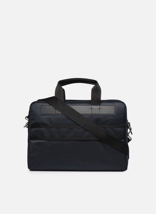 Laptoptaschen Tommy Hilfiger ELEVATED NYLON COMPUTER BAG  5814 blau ansicht von vorne