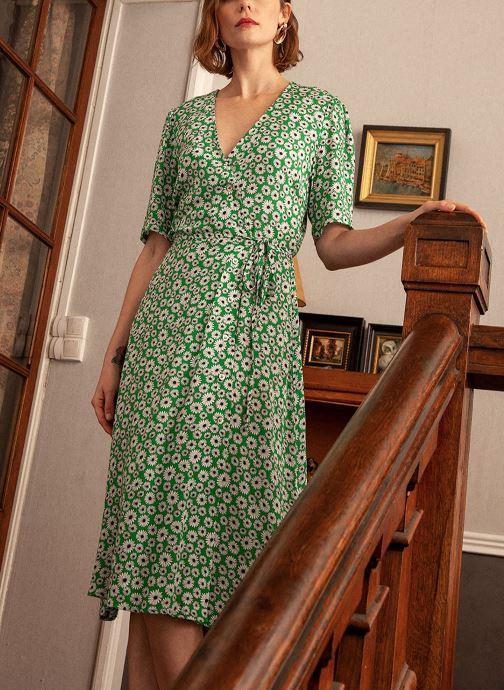 Vêtements Frnch Afifa Vert vue face