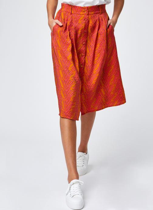 Kleding Frnch Elyette Oranje detail