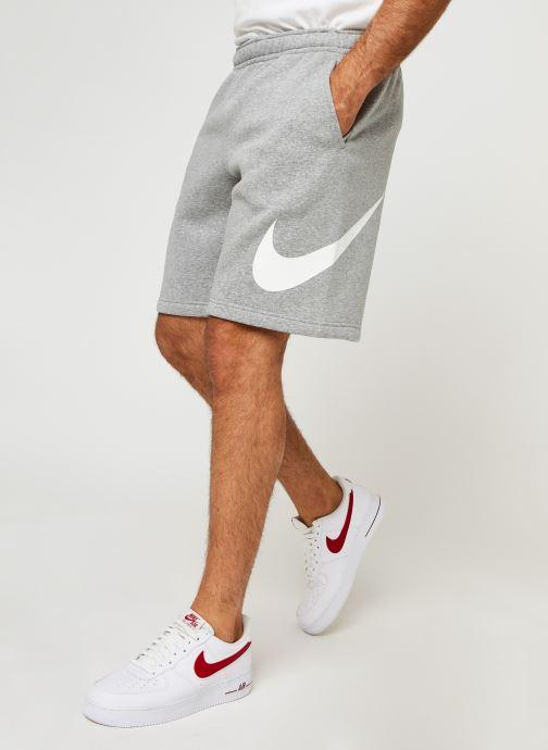 Vêtements Nike M Nsw Club Short Bb Gx Gris vue détail/paire