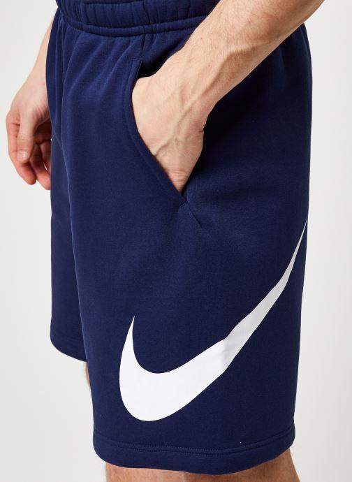 Vêtements Nike M Nsw Club Short Bb Gx Bleu vue face