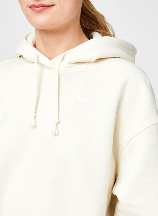 Vêtements Nike W Nsw Hoodie Flc Trend Beige vue face