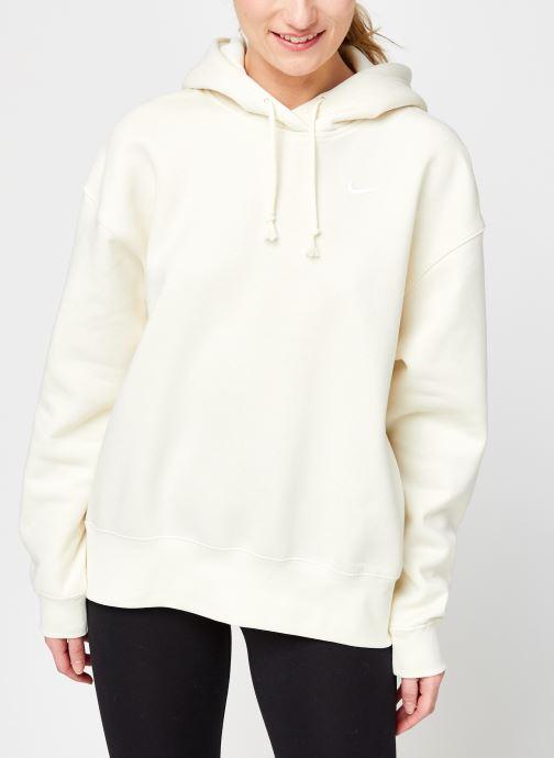 Vêtements Nike W Nsw Hoodie Flc Trend Beige vue droite