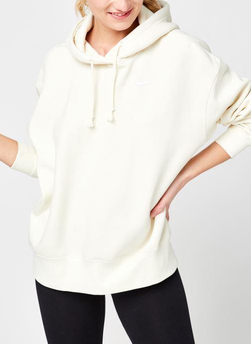 Vêtements Nike W Nsw Hoodie Flc Trend Beige vue détail/paire