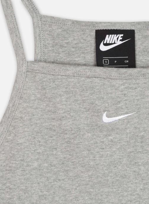 Vêtements Nike W Nsw Essntl Tank Gris vue face