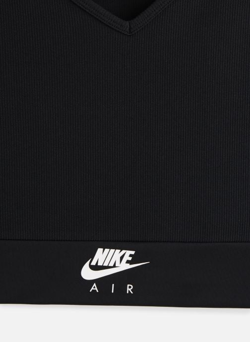 Vêtements Nike W Nsw Air Tank Crop Noir vue portées chaussures