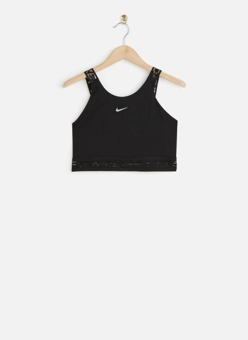 Vêtements Nike W Nk Cln Crop Tank Su Noir vue détail/paire