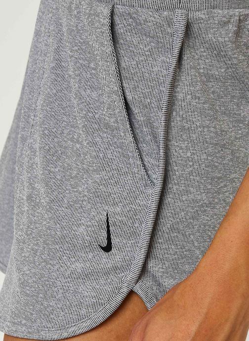 Vêtements Nike W Nk Yoga Rib Short Gris vue face
