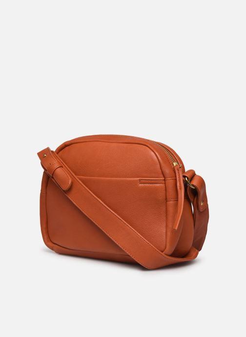 Handtaschen Georgia Rose Colette orange ansicht von rechts