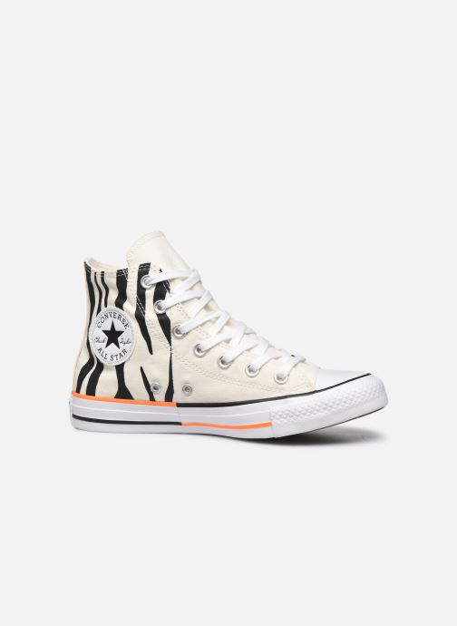 Sneakers Converse Chuck Taylor All Star Sun Blocked Hi Wit achterkant