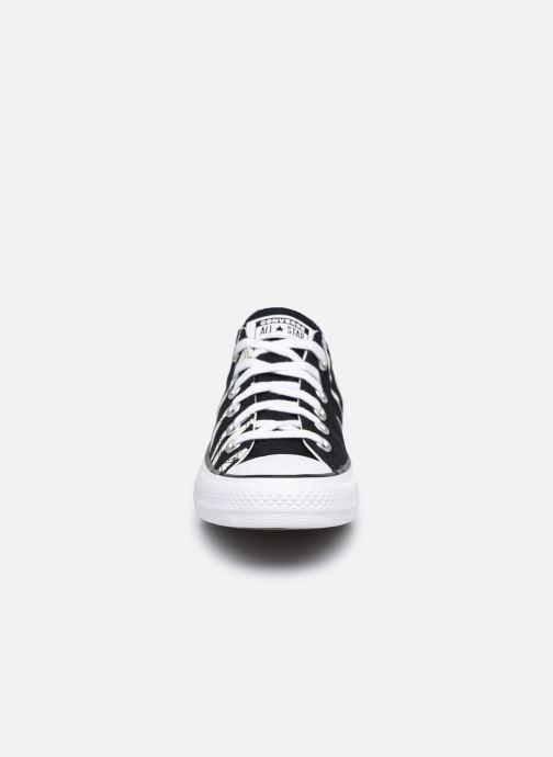 Sneaker Converse Chuck Taylor All Star Sun Blocked Ox schwarz schuhe getragen
