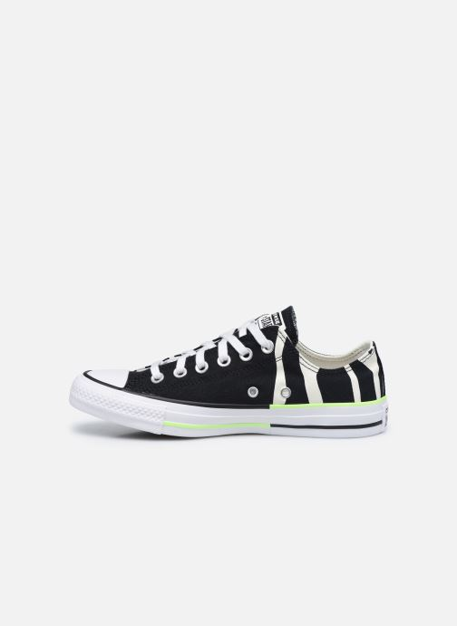 Sneaker Converse Chuck Taylor All Star Sun Blocked Ox schwarz ansicht von vorne
