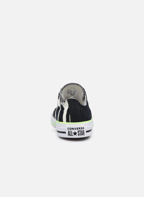 Sneaker Converse Chuck Taylor All Star Sun Blocked Ox schwarz ansicht von rechts