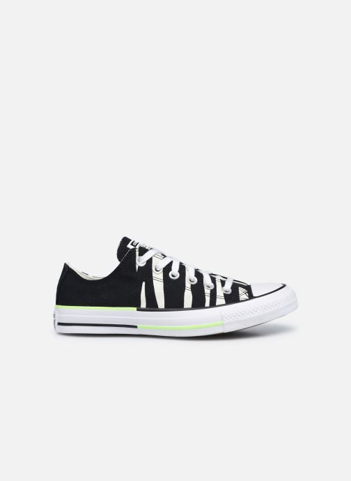 Sneaker Converse Chuck Taylor All Star Sun Blocked Ox schwarz ansicht von hinten