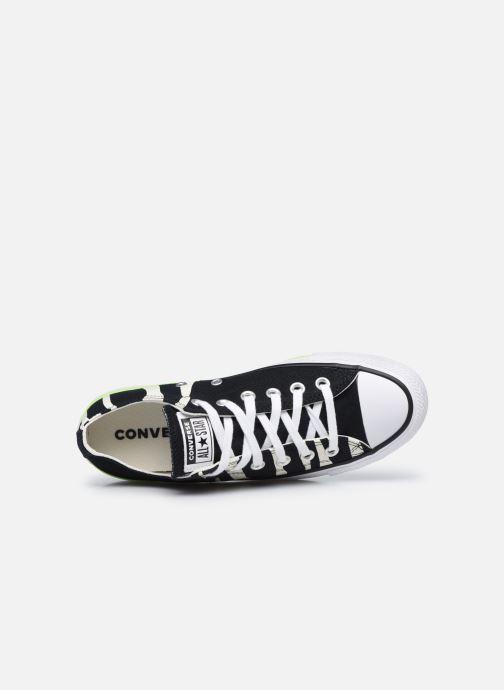 Sneaker Converse Chuck Taylor All Star Sun Blocked Ox schwarz ansicht von links