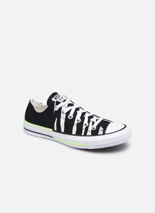 Sneaker Converse Chuck Taylor All Star Sun Blocked Ox schwarz detaillierte ansicht/modell
