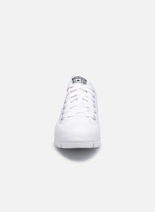 Sneaker Converse Chuck Taylor All Star Lugged Basic Canvas Ox weiß schuhe getragen