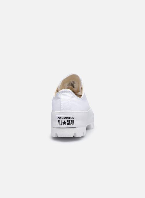 Sneaker Converse Chuck Taylor All Star Lugged Basic Canvas Ox weiß ansicht von rechts